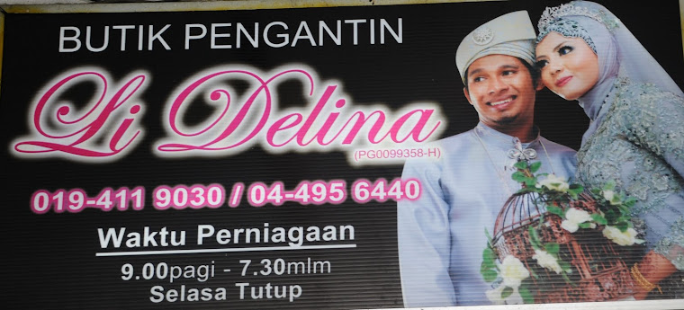 Butik Pengantin Li Delina Collection, Kulim