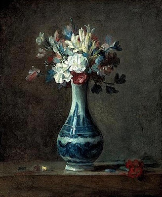 Jean Siméon CHARDIN: Bouquet de fleurs (1734)
