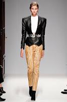 Тесен панталон с прибрани крачоли на Balmain
