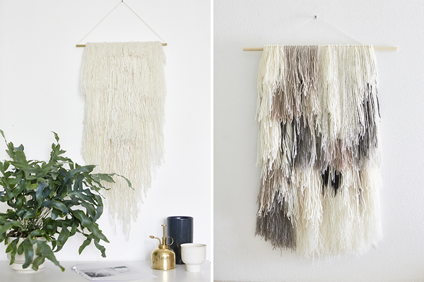 wall hangers by rk design, weekday carnival, via http://www.scandinavianlovesong.com/