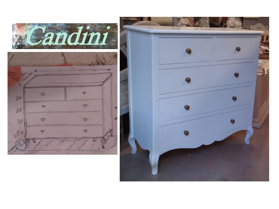 Candini muebles pintados nuevos y redecorados mueble - Mueble blanco decapado ...
