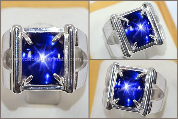 Elegant Hot Kasmir Blue Star SAPPHIRE NH Sri Lanka - SPS 204