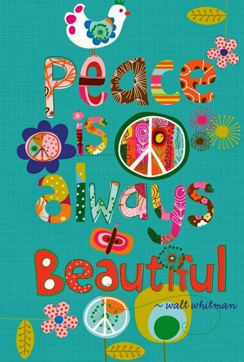What's the color of ur peace today? ;)