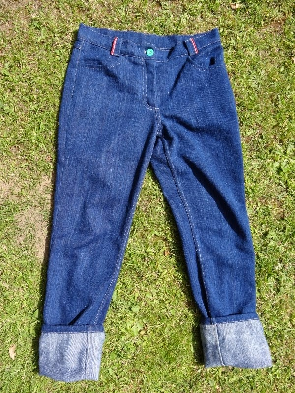 marilla walker hand sewn jeans finished jeans making mission