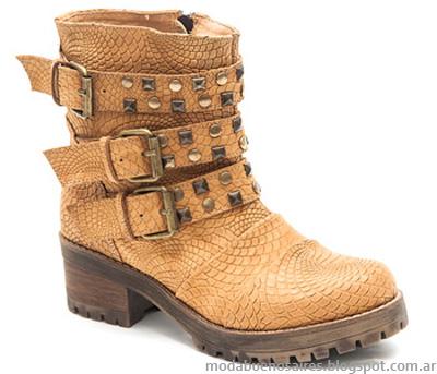 Botas, botinetas y zapatos Traza otoño invierno 2014 colección, Moda otoño invierno 2014.