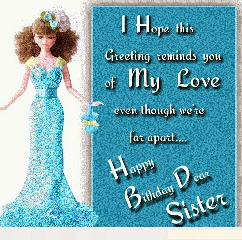 hd birthday wallpaper happy birthday sister