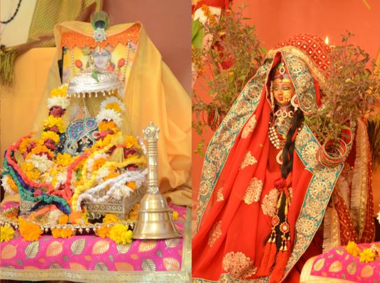 Tulsi Vivah ki Katha Poojan Vidhi Or Mahatv