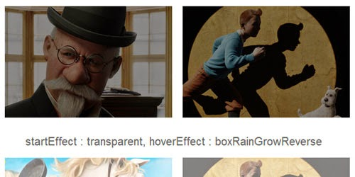 jQuery Multiple Image Hover Effect