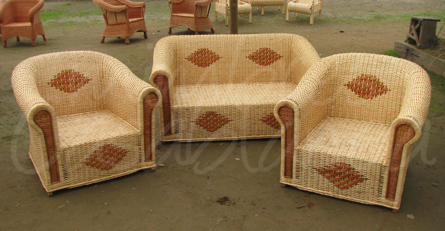 Muebles de mimbre mimbres casablanca juegos de terraza for Muebles de mimbre en valencia