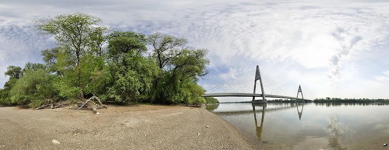 Megyeri híd gömbpanoráma