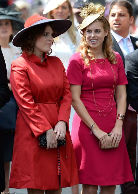 Princess Eugenie and Beatrice were elegant in their bold colored dresses on day 5 of Royal Ascot 2014