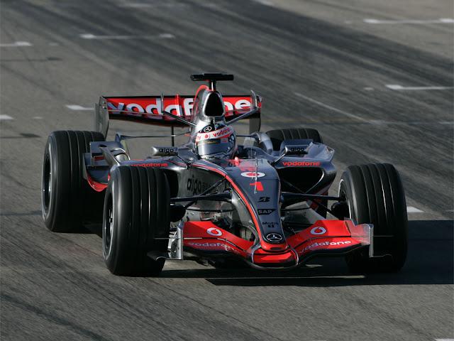 McLaren Mercedes F1-MP24