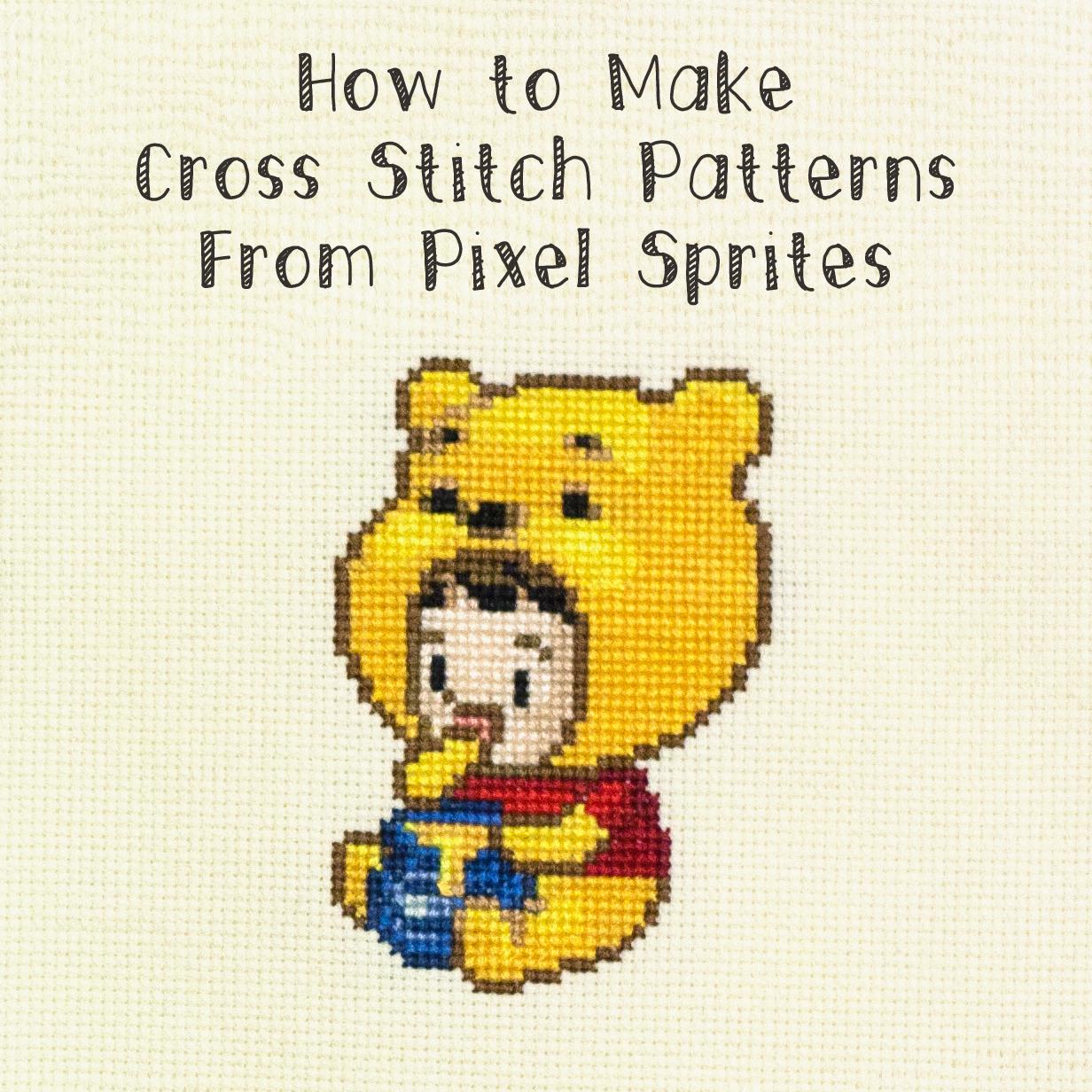 How To Make A Cross Stitch Pattern Custom Inspiration Ideas