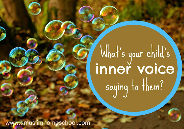 Self belief: What inner voice does you child hear?