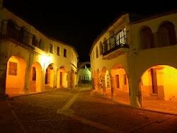 Noche en La Plaza, Garrovillas.