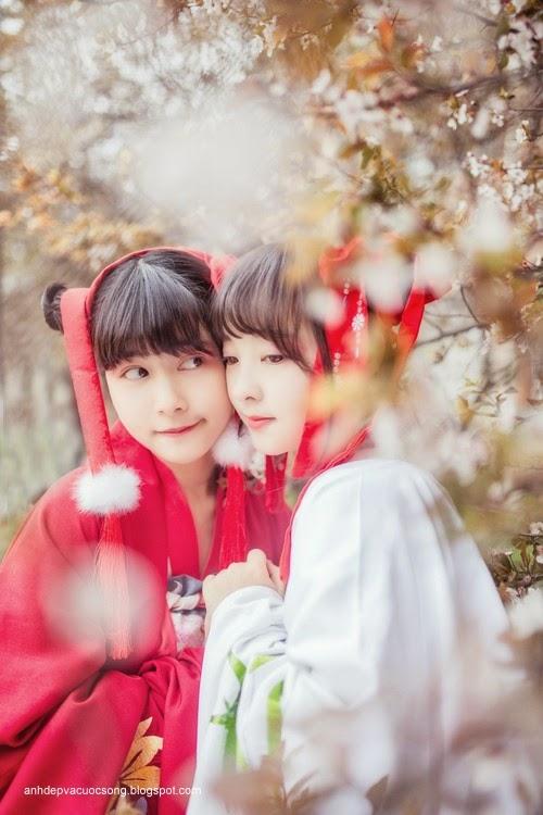 Thiếu nữ Hàn Quốc xinh đẹp với mùa xuân 4
