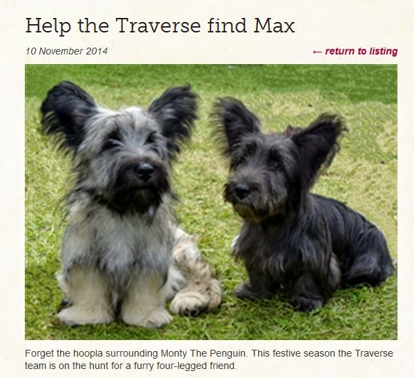 http://www.traverse.co.uk/news/help-the-traverse-find-max/
