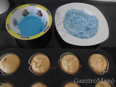 cupcake készítése