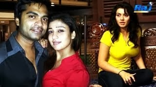 Simbu Romancing Nayanthara | As Hansika takes the break!