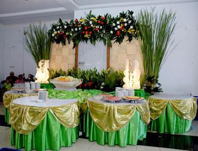dekorasi pernikahan elegan
