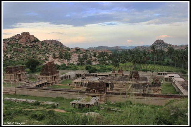 Achyuta Raya temple view