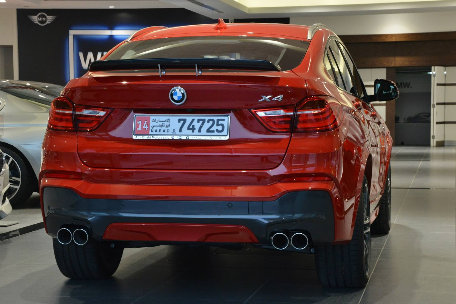 Bmw X4 M Sports In Melbourne Red And Carbon Black Bmw X4