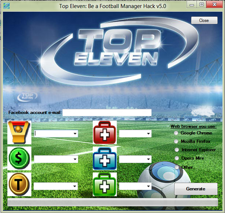 Top Eleven Hack [2013] Hacked Top Eleven Football Manager Juna 2013