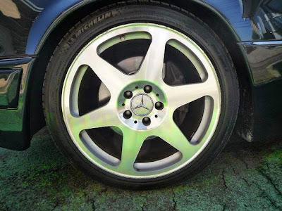e500 limited wheels