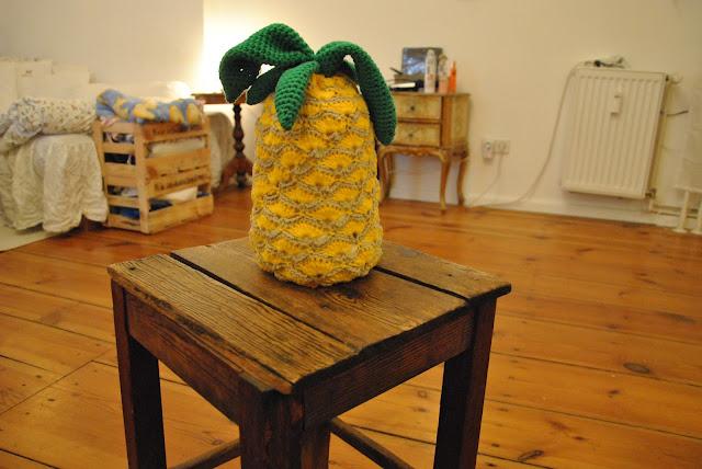 Ananas häkeln nach wollplatz.de