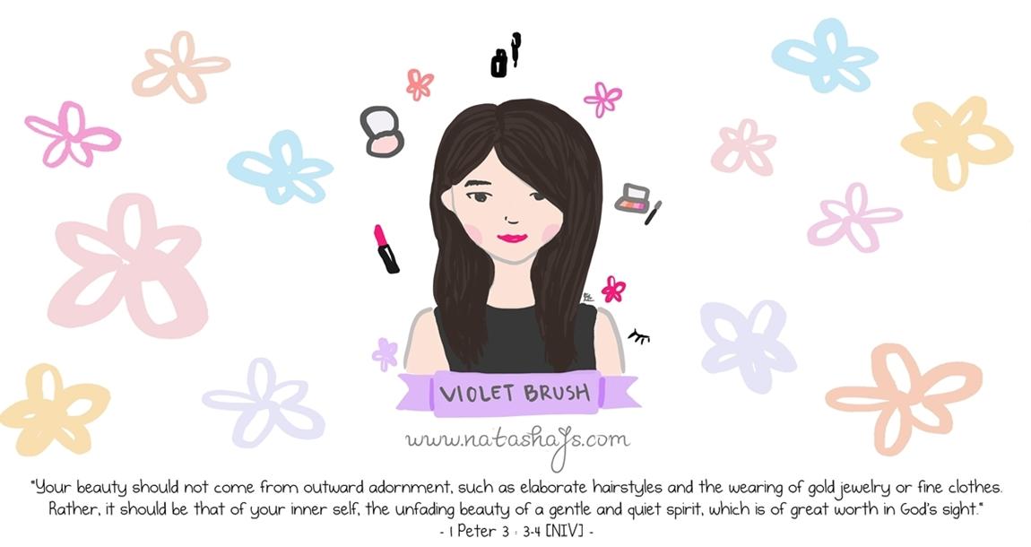 Violet Brush • Indonesian Beauty Blogger