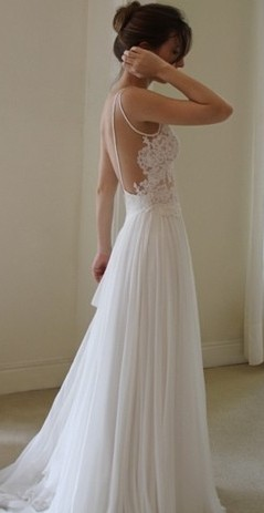 Chic wedding dresses 2013 francymai for Wedding dresses for tomboy brides