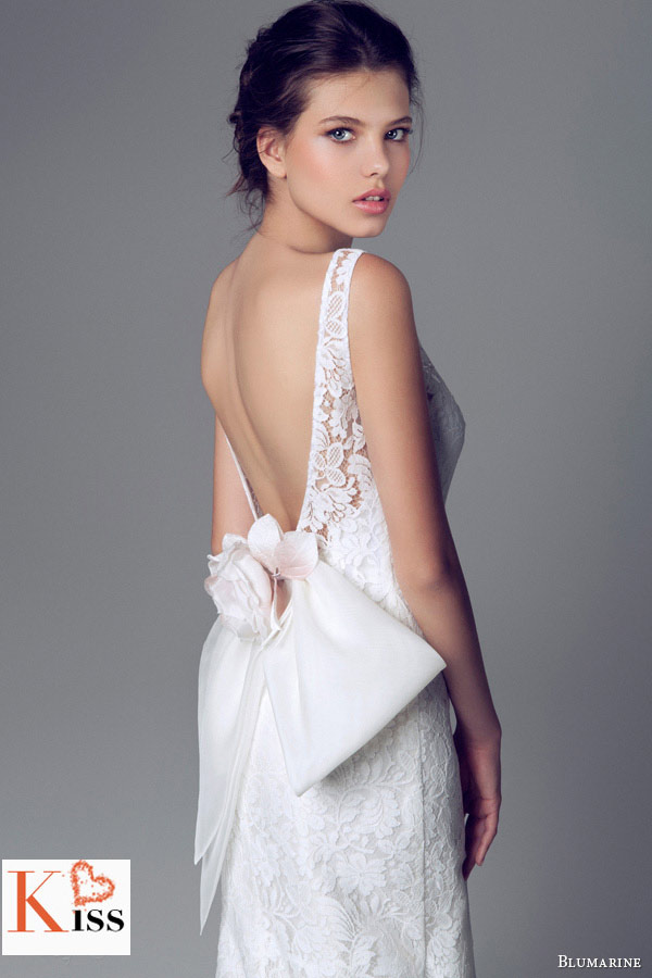 Lace Mermaid 2014 Wedding Dresses Collection From Blumarine
