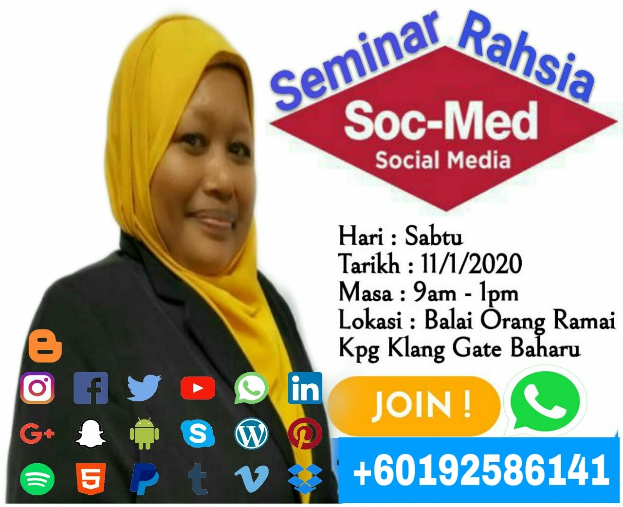 SEMINAR RAHSIA SOCIAL MEDIA