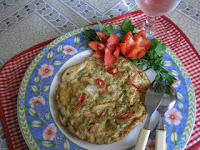 Resep Omelet Pare