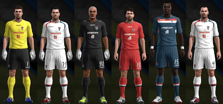 PES 2013 Gil Vicente 12 13 Kit Set by Santy Argentina