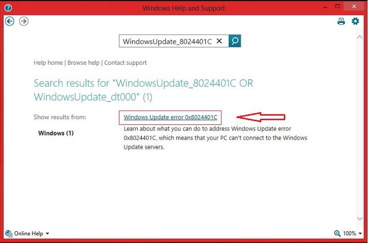 how to close windows update in windows 8