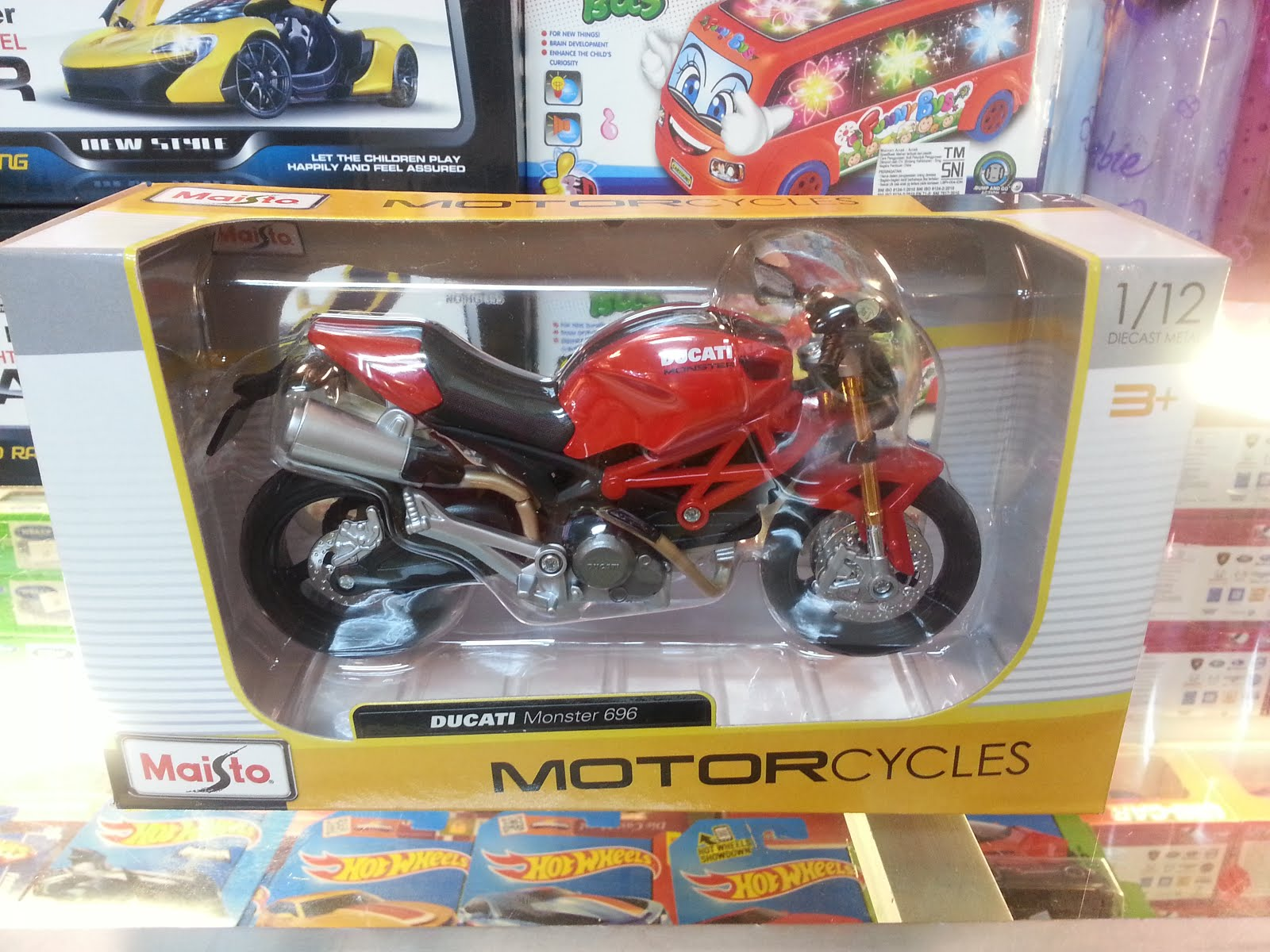Maisto 1:12 Ducati Monster
