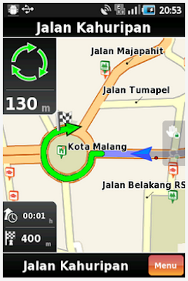 Download NDrive GPS navigasi 11.4.0.3