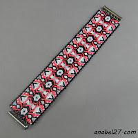 free peyote bracelet pattern