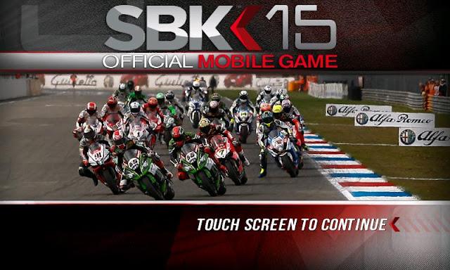 SBK15 Official Mobile Game Apk Full Data