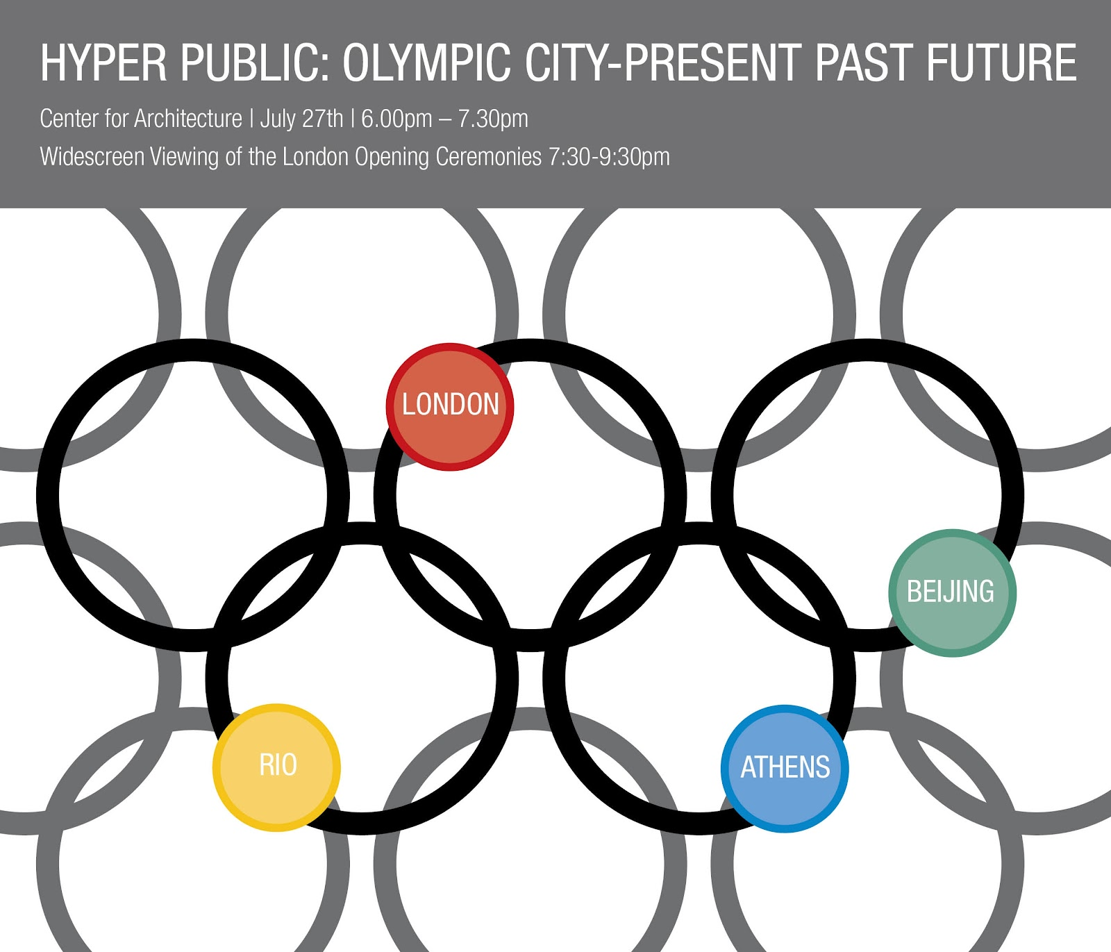 This Evening Session At The New York Center For Architecture July 27 Will Focus On London