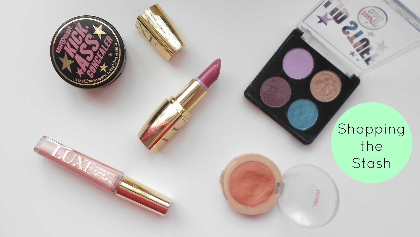 uk blog shopping the stash makeup spending ban