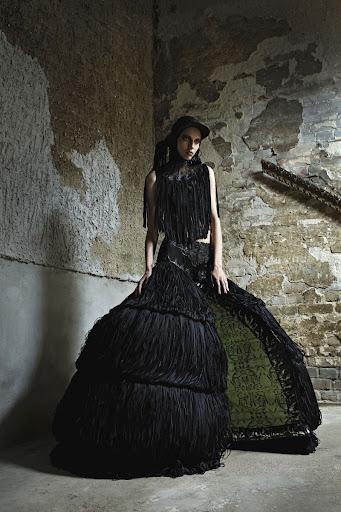 Malgorzata Dudek Giger's Goddess Spring/summer 2012 Women's Collection