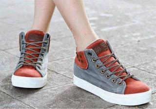 sandal, sepatu, heels, wedges, kets wanita murah