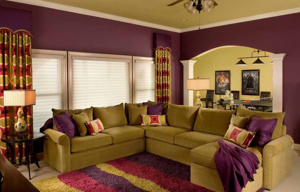Eggplant Color Painting Ideas