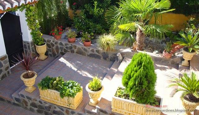 Terrazas y jardines fotos de jardines for Tejabanes para terrazas