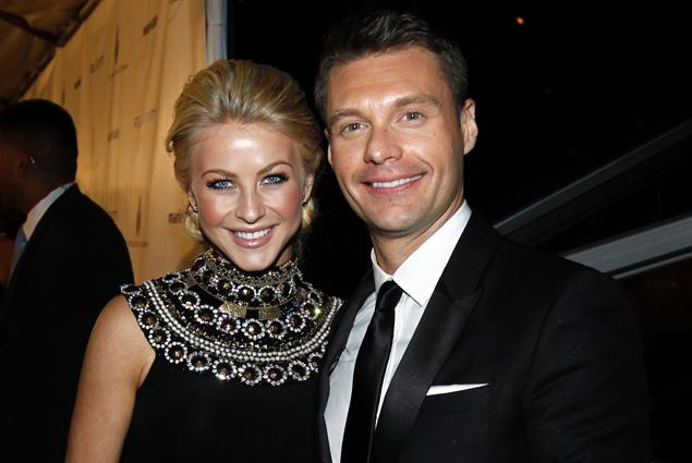 Julianne Hough and Ryan Seacrest photo
