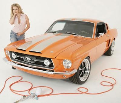 Las Chicas Prefieren el Mustang