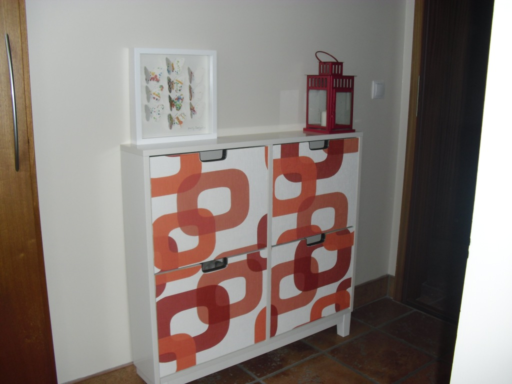 St ll shoe cabinet makeover get home decorating for Ikea stall shoe rack
