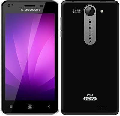 Videocon launches Z51 Nova smartphone in India for Rs. 5400